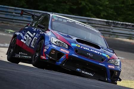 Subaru WRX STI стал победителем в гонке «24 часа Нюрбургринга» в классе SP3T